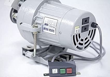 Clutch Motor Industrial Sewing Machine 1/2 HP/110/220 V Shaft size Amco, 3/4 (3450 RPM high speed) iKonix