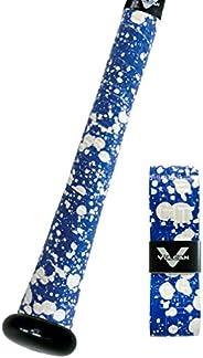 Vulcan Bat Grip, Vulcan 1.75mm Bat Grip, Blue Splatter