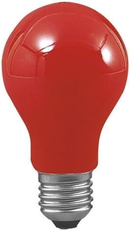 Bombilla est/ándar roja 230V 25W E27 Ref 094-1048