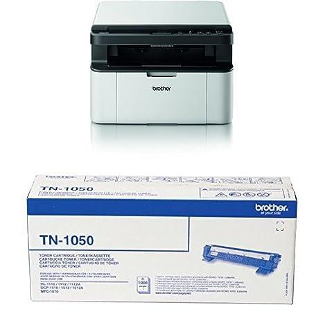 Brother DCP-1610W - Impresora multifunción láser monocromo (WiFi ...