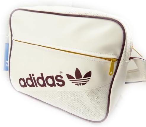 Bolsa de hombro Adidas vintage beige.: Amazon.es: Equipaje