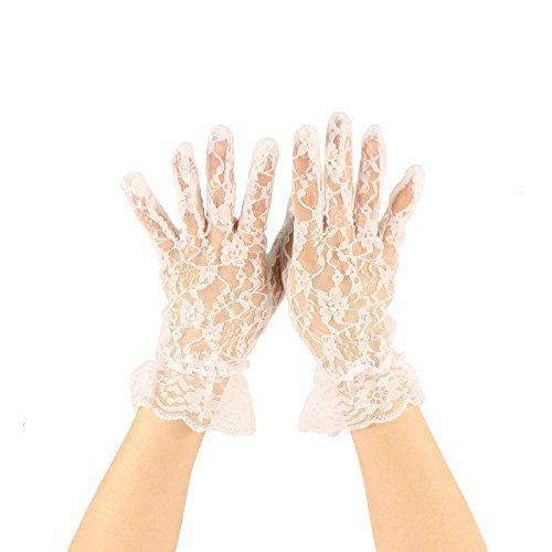vintage white gloves - 7