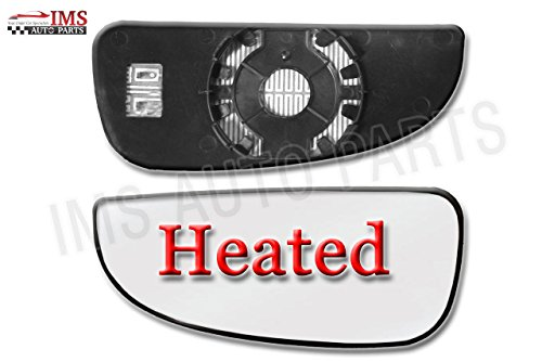 Dodge Ram Pro Master Lower Blind Spot Wing Mirror SmallGlass Left N/S - Master Glass Pro Glass