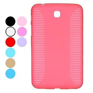 Solid Color Hard Case for Samsung Galaxy Tab P3200,P3210 --- COLOR:Black