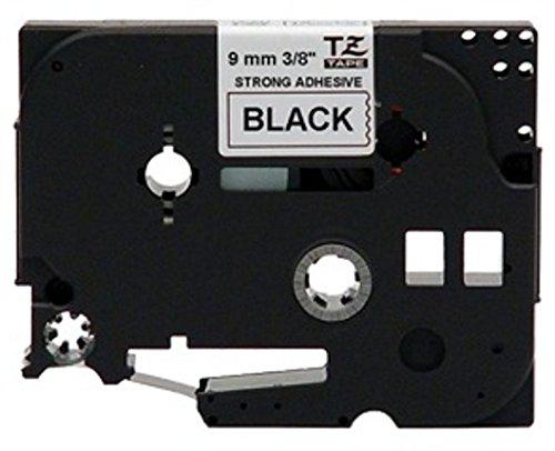 4 Farband Schwarz auf weiß für TZ-221 Brother P touch 1280 1950 310 H75 540C 200