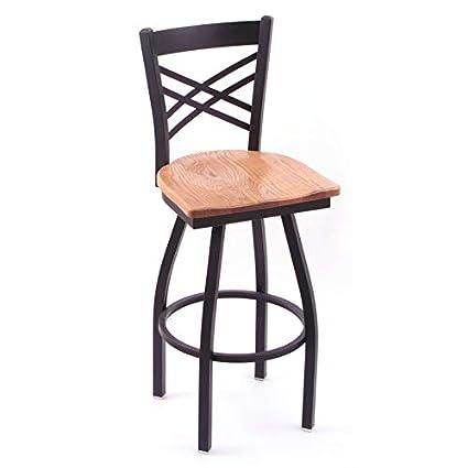 Brilliant Amazon Com 36 Inch Swivel Bar Stool Black Finish And Lamtechconsult Wood Chair Design Ideas Lamtechconsultcom