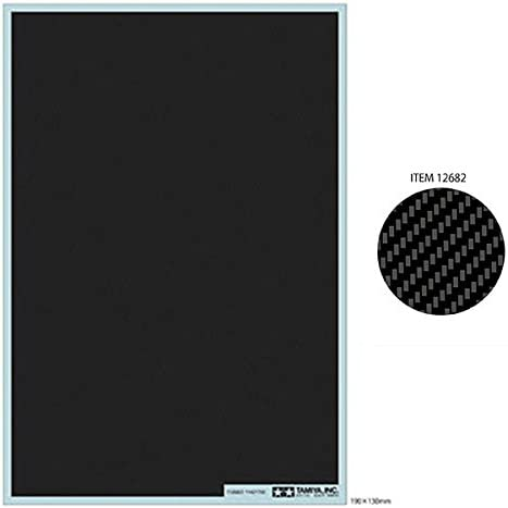 Replacement Part Carbon Hobbies Accessories Crafts Gluing Tamiya 12682 12682-1:6//1:12//1:24 Decorative Twill // Ex.Fine Model Building