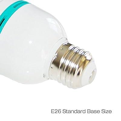 LimoStudio 85 Watt Fluorescent Full Spectrum Pure White Daylight Balanced Studio Light Bulb, AGG119-A