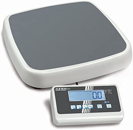 Kern MPC 300K-1M - Professional personal floor scale, Weighing Range [Max]: 300 kg, Readout [d]: 100 g, Weighing plate: WxDxH 365x370x80 mm, Incl. VERIFICATION