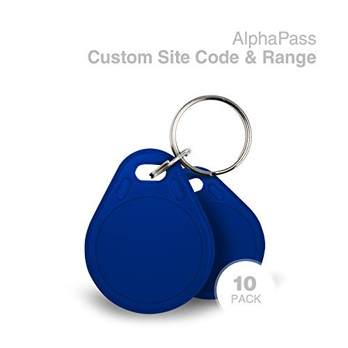 Same Day Custom Programmed AlphaPass Proximity Key Fob for Access Control. Replaces HID 1346 ProxKey III Key Fobs. Standard 26 bit H10301 Format. Choose your Facility Code & Range. Blue ()