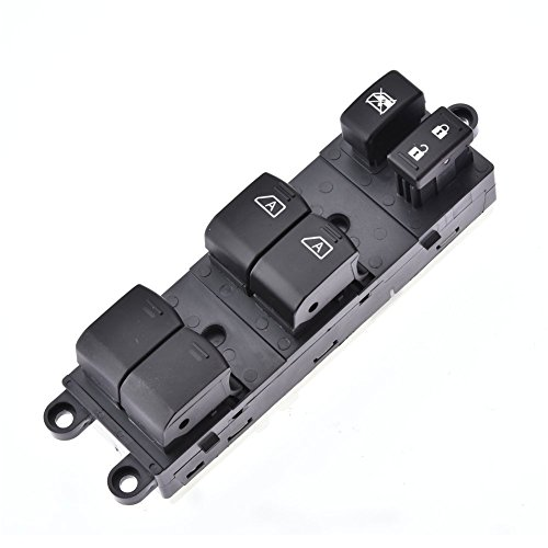 (Driver Side Master Power Window Switch 25401-ZL10C for 2007 2008 2009 2010 2011 2012 Nissan Pathfinder)