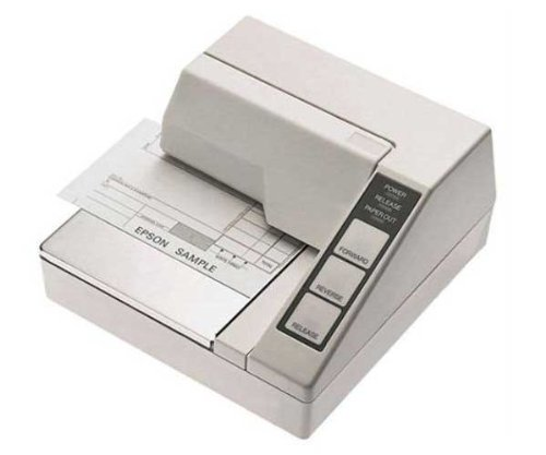 U295 Receipt Printer (Epson TM-U295-272 Receipt Printer 7-pin - 0 lpm Mono - Serial - NO Power Supply Included - Dark Gray C31C163272)