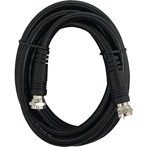 Ge Video Adapter - GE 23217 Video Cable 6-Ft RG59 Coax with F Plugs Each End, Black