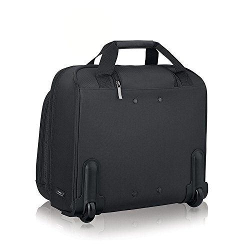 41yNjT6VTtL - Solo New York Bryant Rolling Laptop Bag. Rolling Briefcase for Women and Men. Fits up to 17.3 inch laptop - Black