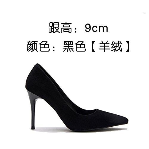 d una de con dama Zapatos boca superficial patente sexy La tacones zapatos señaló FLYRCX el zapatos elegante primavera verano de cuero y cA1qfqwvzF