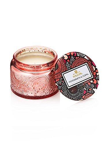 Voluspa Persimmon & Copal Petite Glass Jar Candle 3.2oz