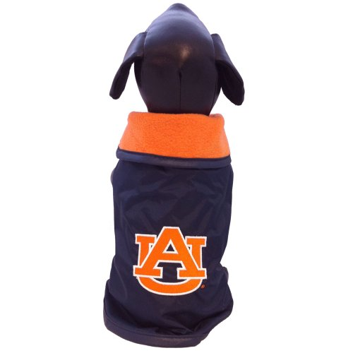 Cheap NCAA Auburn Tigers All Weather Resistant Protective Dog Outerwear, Medium