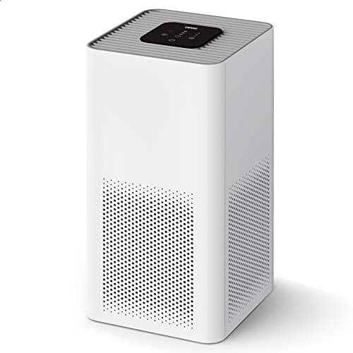 TOPPIN Air Purifiers for Home - 21db Ultra-Silent H13 True HEPA Filter for Bedroom Up to 195ft², 99.97% Air Cleaner for Allergies Pets Hair Dander Pollen Smoke Dust Odors