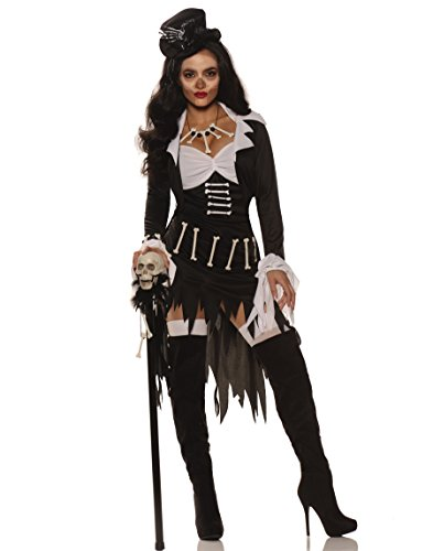 Voo Doo Priestess Costume, Multi, X-Large (Voodoo Queen Costume)