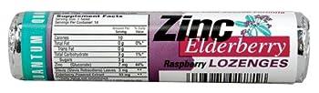 Quantum - Lozenge Zinc Elderberry - 14 Lozenges