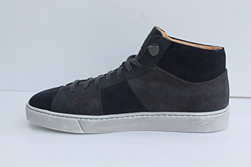 with credit card cheap online cheap sale fake Santoni Suede Mens Trainers Grey cheap outlet store limited edition cheap price release dates for sale rMmaLcb