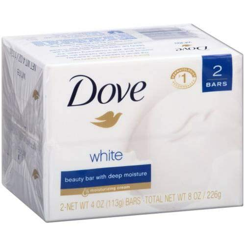 - Dove White Beauty Bar, 8 Ounce - 12 per case.