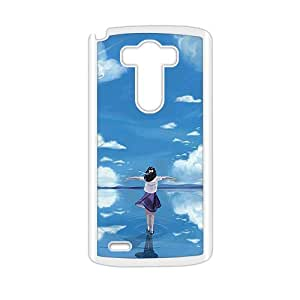 Personalized protective cell phone case for LG G3,sea girl design