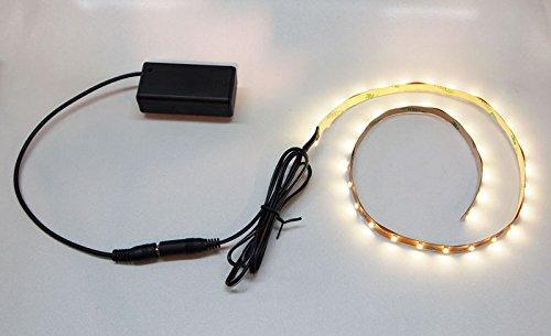 LED Lights for Folk Harp Neck; Adheres Under Neck