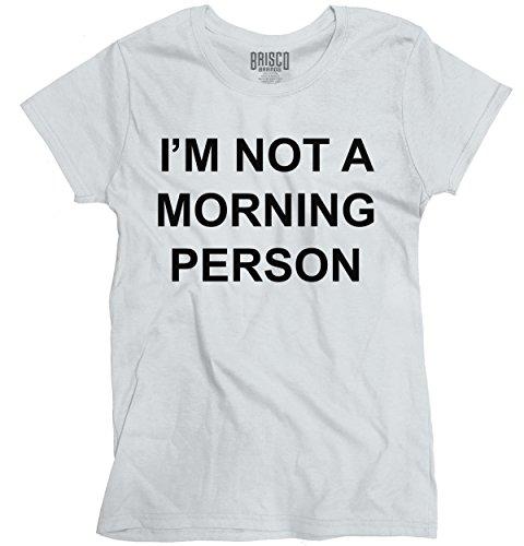Morning Person Sayings Humorous T Shirt product image