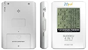 HT-ZS11M - ZOpid Electronic Sudoku with Touch Screen and Back Light
