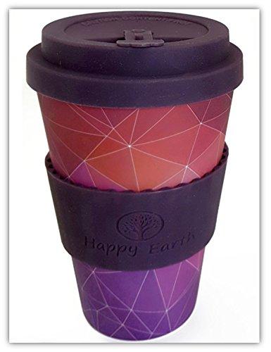 20 opinioni per STARGAZER di Happy Earth (Riutilizzabile tazza da caffè Eco-Friendly 450ml,