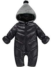 zhbotaolang Infant Jumpsuit Winter Snowsuit-Kids Romper Down Jacket (S-XL)