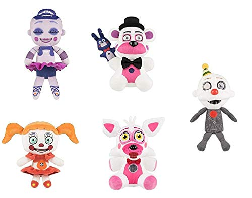 Set Of 5 Five Nights At Freddy's Sister Location ()