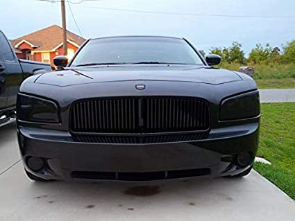 Amazon Com Blinglights Compatible For Dodge Charger Tinted Headlamp