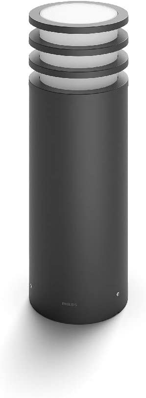 Philips Hue Lucca Pedestal Inteligente Exterior LED (IP44), Luz ...