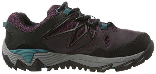 Violett Merrell Trekking 2 Wanderhalbschuhe Berry Berry GTX All amp; Out Damen Blaze qzwaqZ6