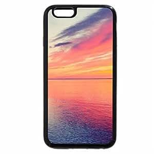 iPhone 6S Plus Case, iPhone 6 Plus Case, swimming in sea under magical sky