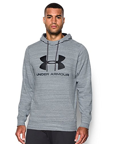 Under Armour Men's Tri-Blend Fleece Graphic Hoodie, Steel (035), Small