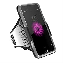 Workout Armband for Otterbox Commuter - iPhone 6 PLUS 5.5 [Case not included] (Encased® Lifetime Warranty)