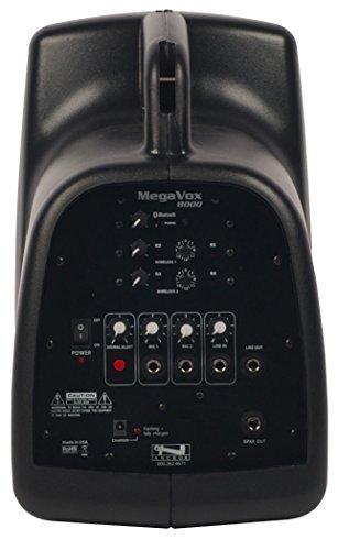 - Anchor Audio MEGA-8000U2 MegaVox Pro PA System with 2x Wireless Receivers