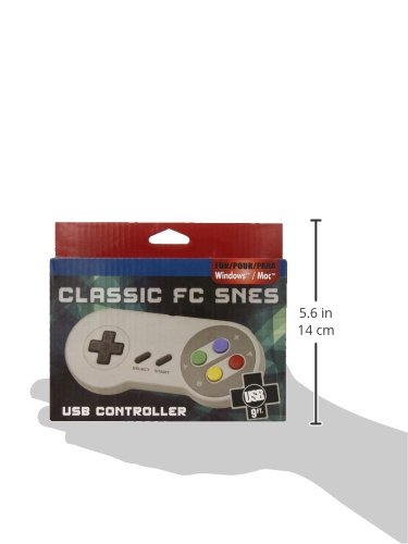 Gtron Retro USB Super Classic Controller For PC/Mac