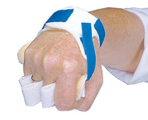 FREEDOM Palm Guard with Finger Separators, Left, box of 2 by AliMed