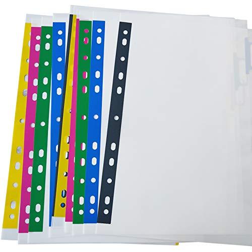 Amazon.com: Carpeta de plástico A4 con separadores de índice ...