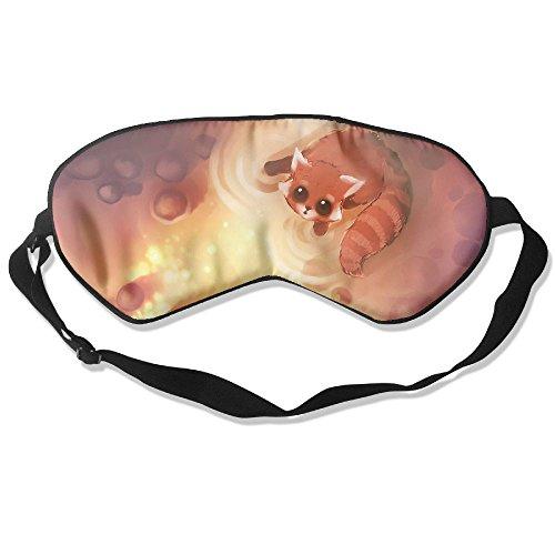WUGOU Sleep Eye Mask Cute Animals Civet Cats Lightweight Soft Blindfold Adjustable Head Strap Eyeshade Travel Eyepatch ()