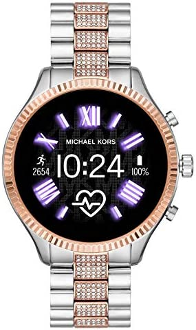 Michael Kors Access Gen 5 Lexington Smartwatch- Powered with Wear OS through Google with Speaker, Heart Rate, GPS, NFC, and Smartphone Notifications