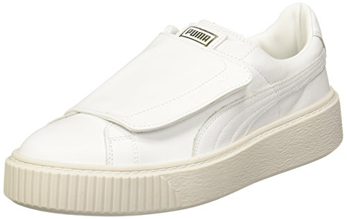 Puma Basket Platform Strap W Schuhe Weiß