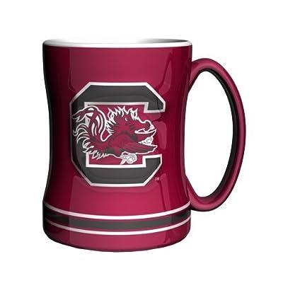 NCAA South Carolina Gamecocks Sculpted Relief Mug, 14-Ounce by Boelter Brands