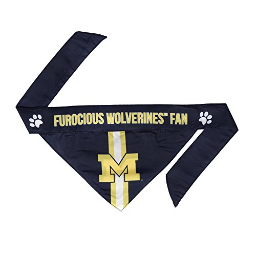 Michigan Wolverines Ncaa Basketball - NCAA Michigan Wolverines Pet Bandanna, XL
