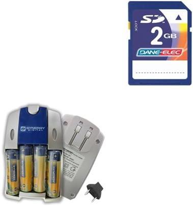 Nikon Coolpix L30 Digital Camera Accessory Kit includes KSD2GB Memory Card SB257 Charger
