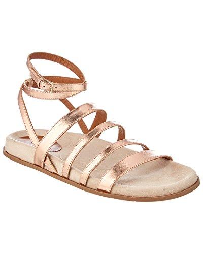 Aquatalia Ilise Waterproof Leather Sandal, 5.5